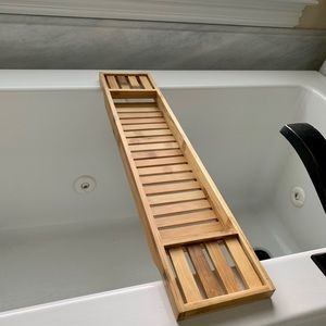 Bamboo Bath Caddy 🛁